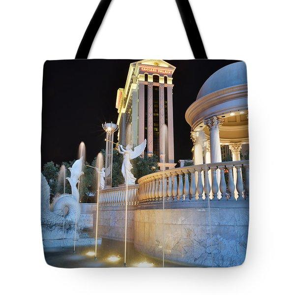 Las Vegas Tote Bag by Ray Mathis