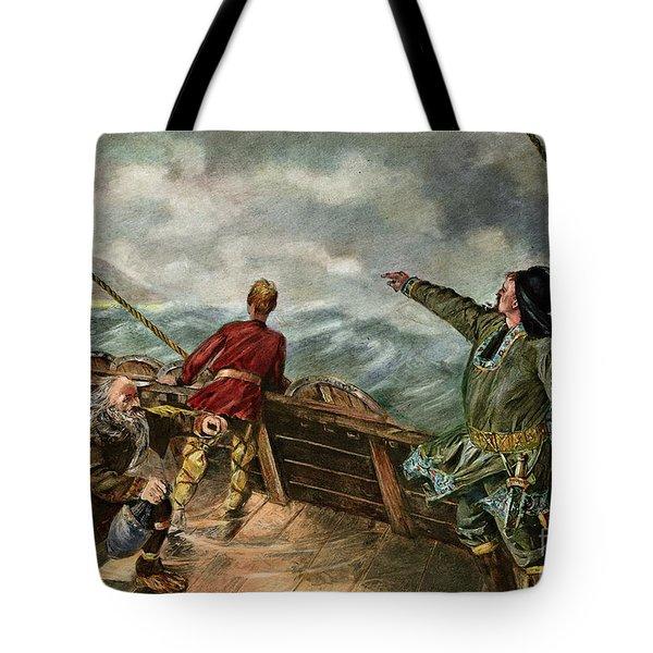 Leif Ericsson, C970-1020 Tote Bag