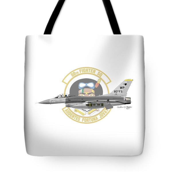 Lockheed Martin F-16c Viper Tote Bag