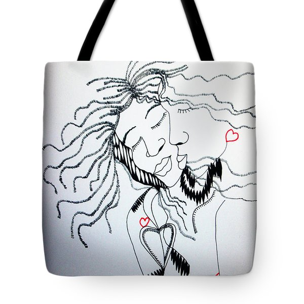Love Is A Heart Tote Bag