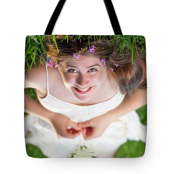 Mckenna Senior Portrait Tote Bag