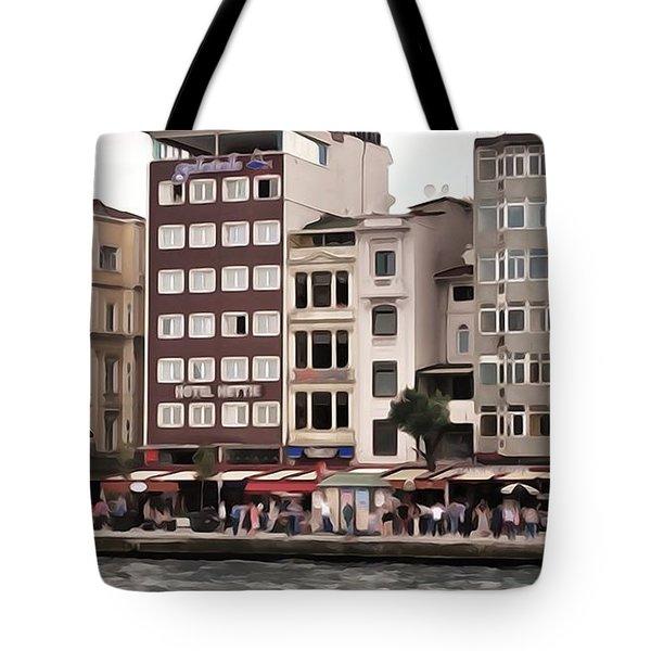 On The Bosphorus Tote Bag