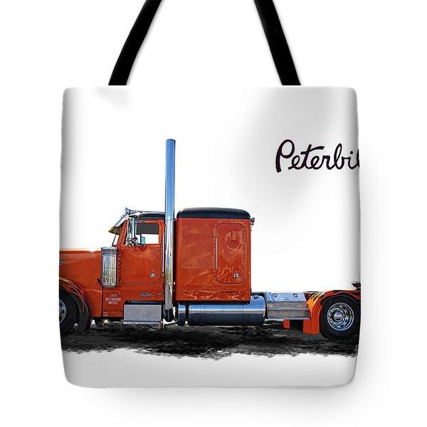 Peterbilt Semi Truck Tote Bag