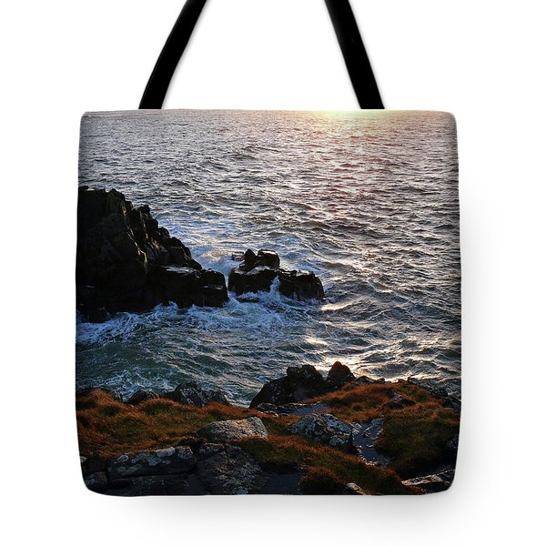 Tote Bag featuring the photograph Portstewart Sunset by Colin Clarke