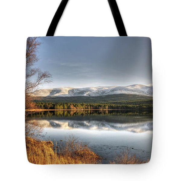 Tote Bag featuring the photograph Scotland by Gouzel -