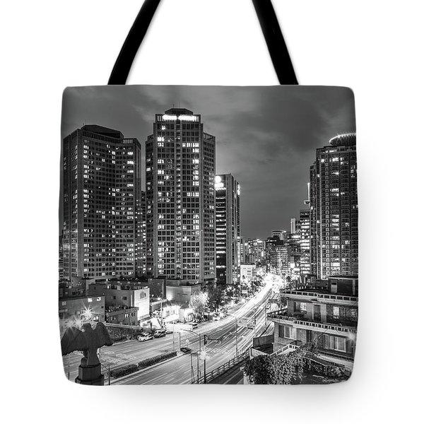 Seoul Night Rush Tote Bag