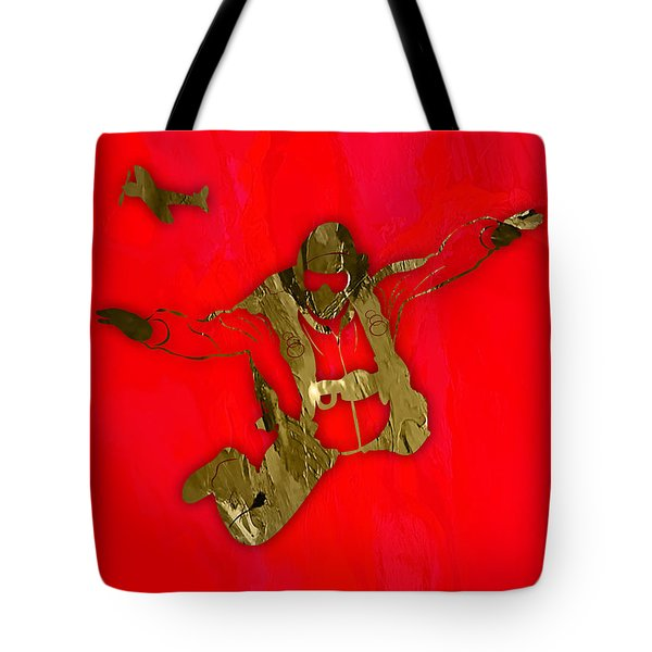 Skydiving Collection Tote Bag