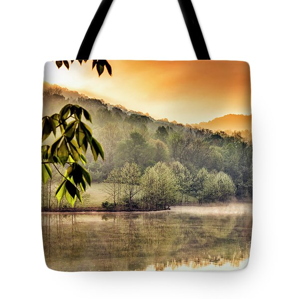 Stonewall Resort Sunrise Tote Bag by Thomas R Fletcher