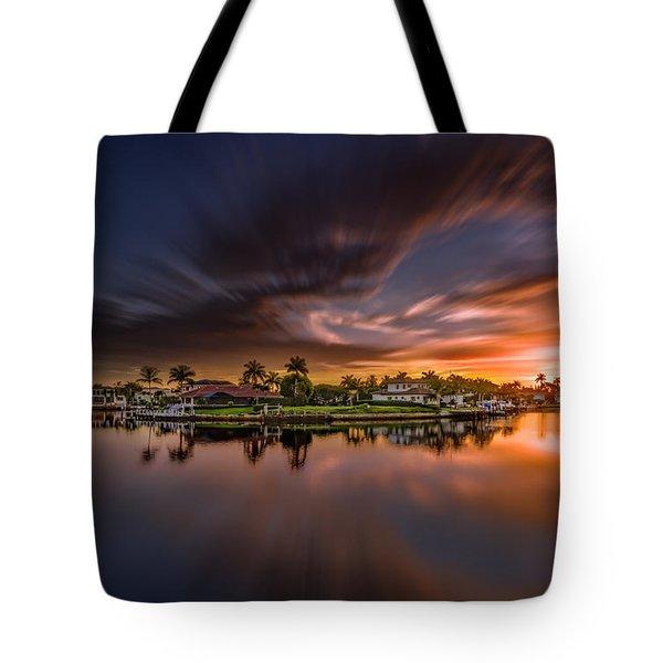 Sunrise At Naples, Florida Tote Bag