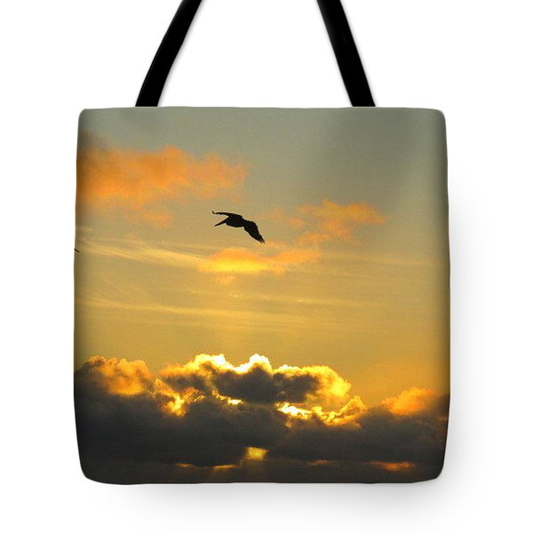 Sunset Tote Bag by Josias Tomas