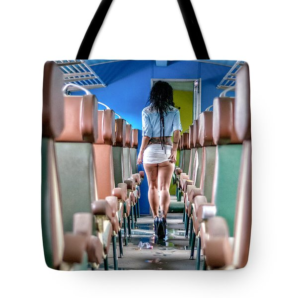 Take A Litte Trip Tote Bag by Traven Milovich