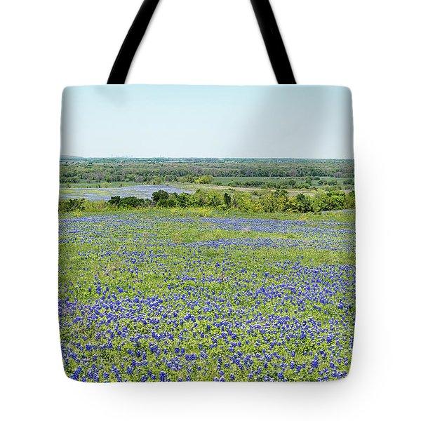 Texas Bluebonnets 10 Tote Bag