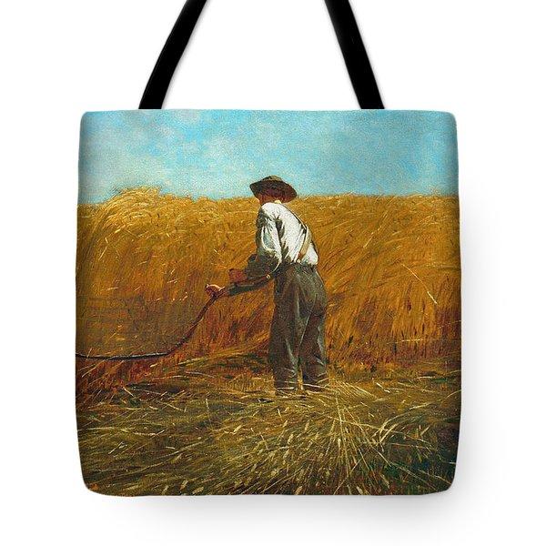 The Veteran In A New Field Tote Bag