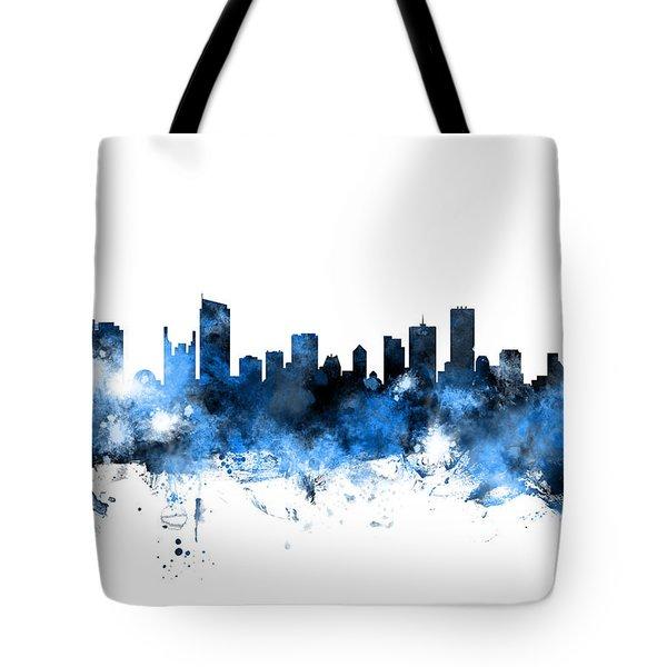 Vancouver Canada Skyline Tote Bag