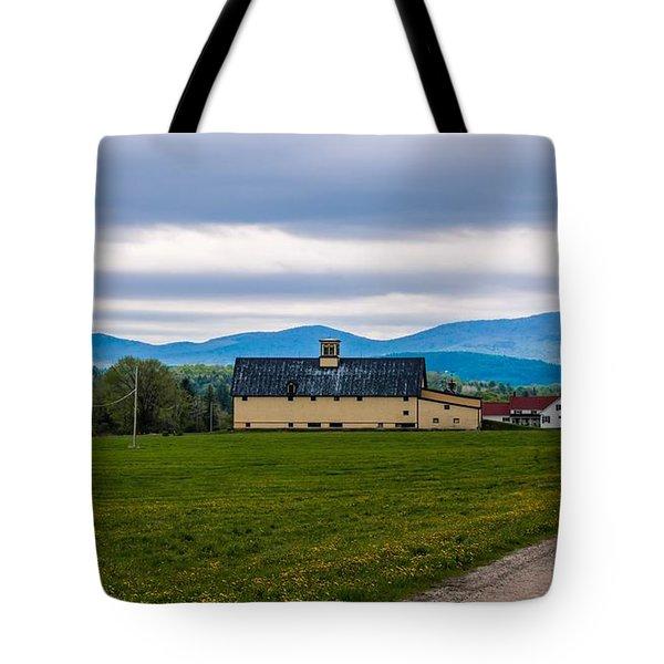 Vermont Dairy Farm Tote Bag