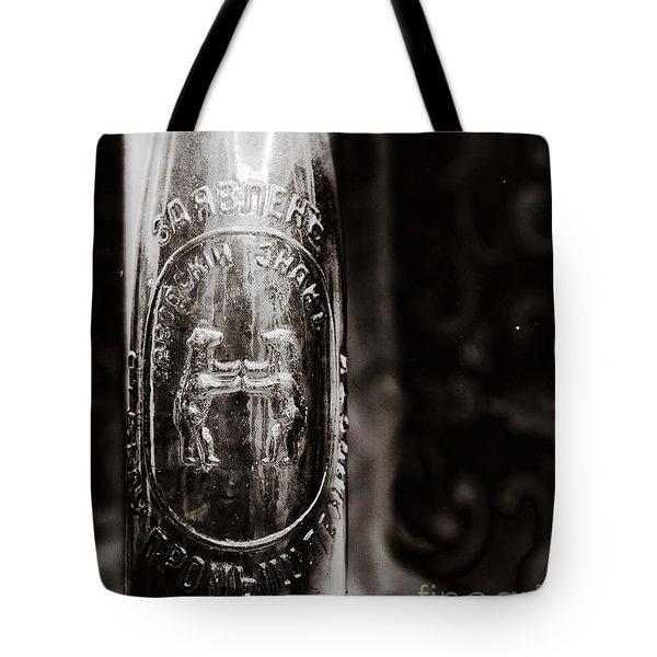 Vintage Beer Bottle #0854 Tote Bag