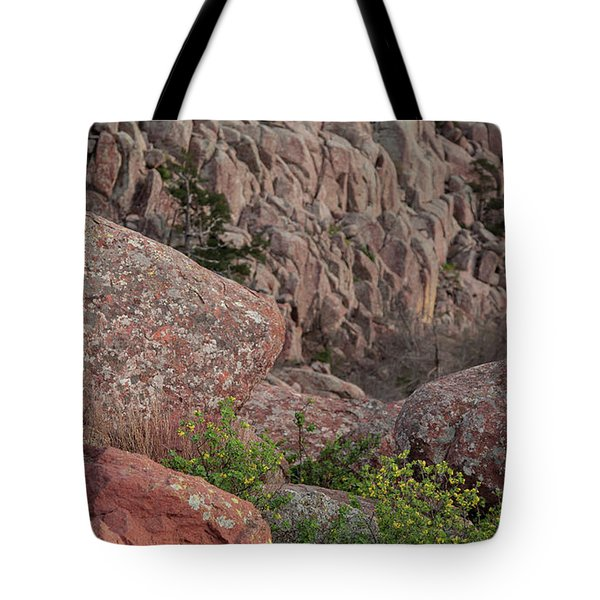 Tote Bag featuring the photograph Wichita Mountains by Iris Greenwell