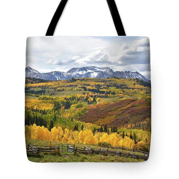 Wilson Mesa Ranch Loop Road Tote Bag