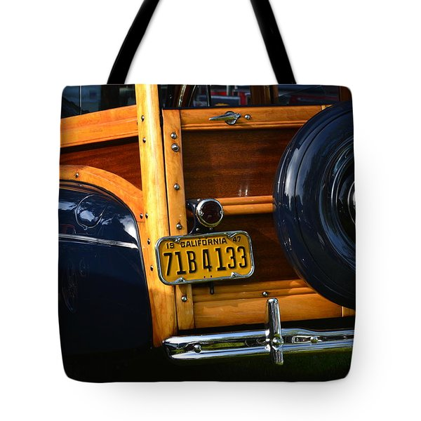 Woodie Tote Bag by Dean Ferreira