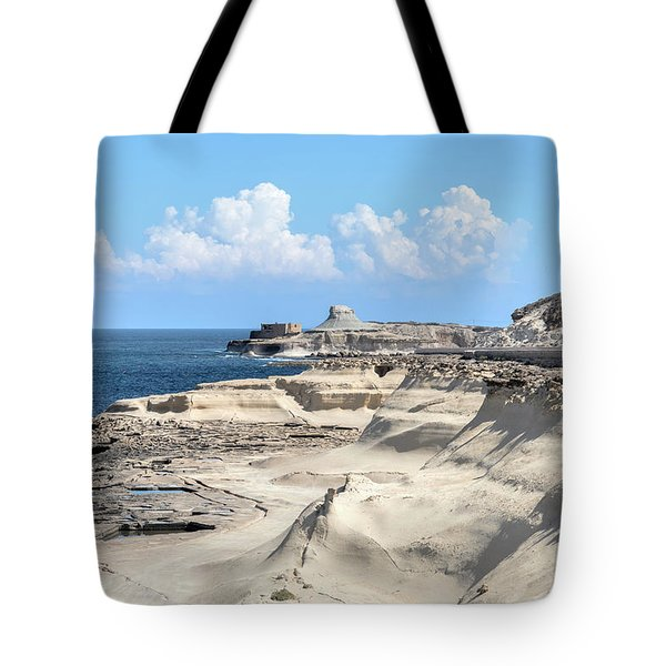Xwejni Bay - Gozo Tote Bag