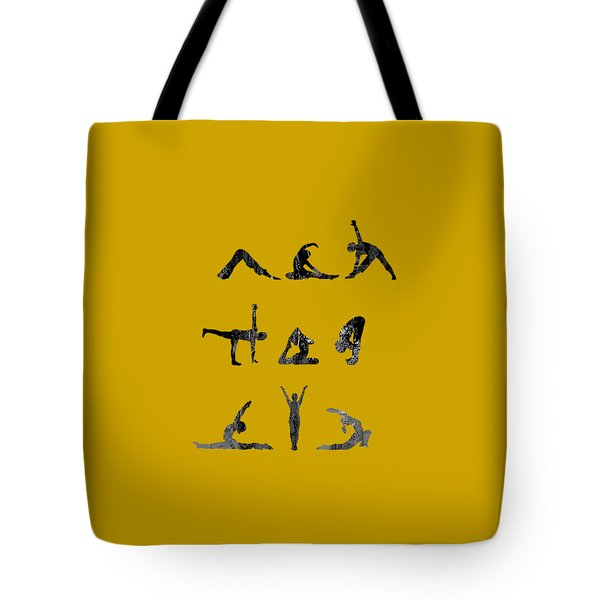 Yoga Collection Tote Bag by Marvin Blaine