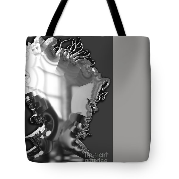Bob Dylan Collection Tote Bag by Marvin Blaine
