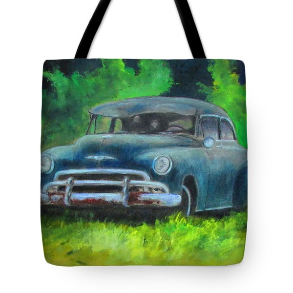 50 Chevy Tote Bag