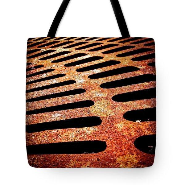 Iron Detail Tote Bag