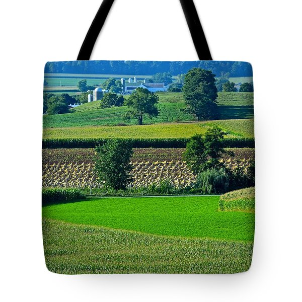 50 Shades Of Green Tote Bag