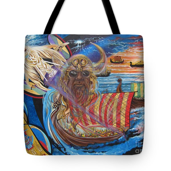 500 Empires Never Die - Odin Tote Bag