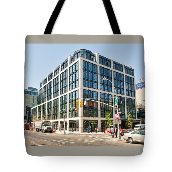 Tote Bag featuring the photograph 500 W 21st Street 5 by Steve Sahm