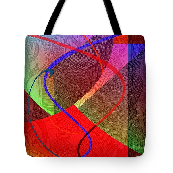 504 - Patterns  2017 Tote Bag by Irmgard Schoendorf Welch