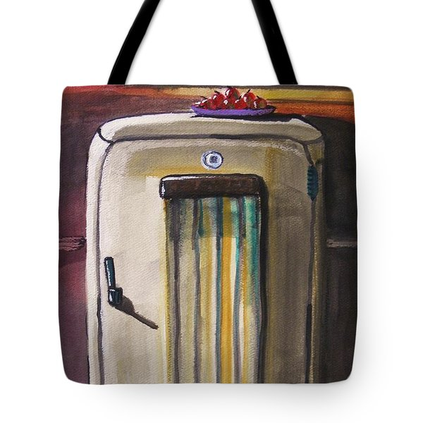 Tote Bag featuring the painting 50's Update by John Williams