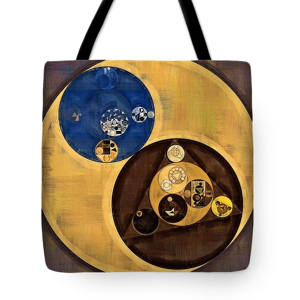 Tote Bag featuring the photograph Abstract Painting - Zinnwaldite Brown by Vitaliy Gladkiy