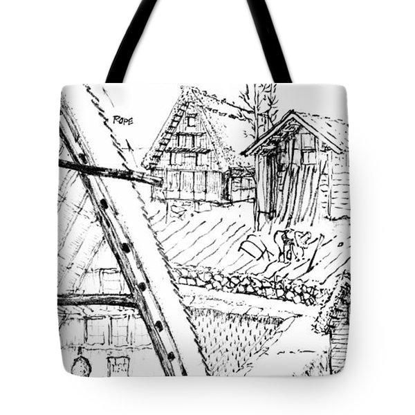 5.15.japan-3-detail-b Tote Bag