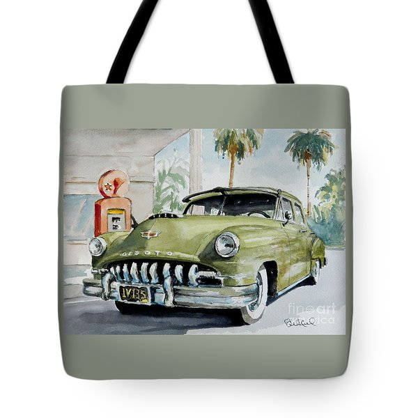 '52 Desoto Tote Bag by William Reed