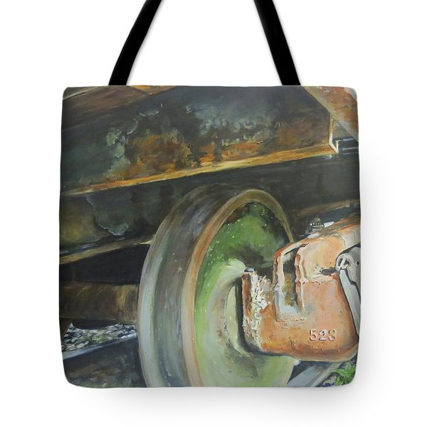 Tote Bag featuring the painting 523 by William Brody
