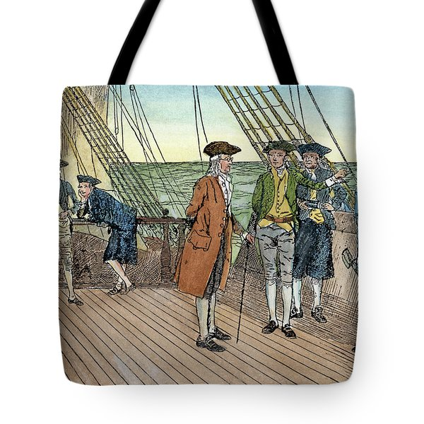 Benjamin Franklin, 1706-1790 Tote Bag