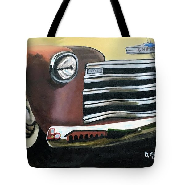 53 Chevy Truck Tote Bag