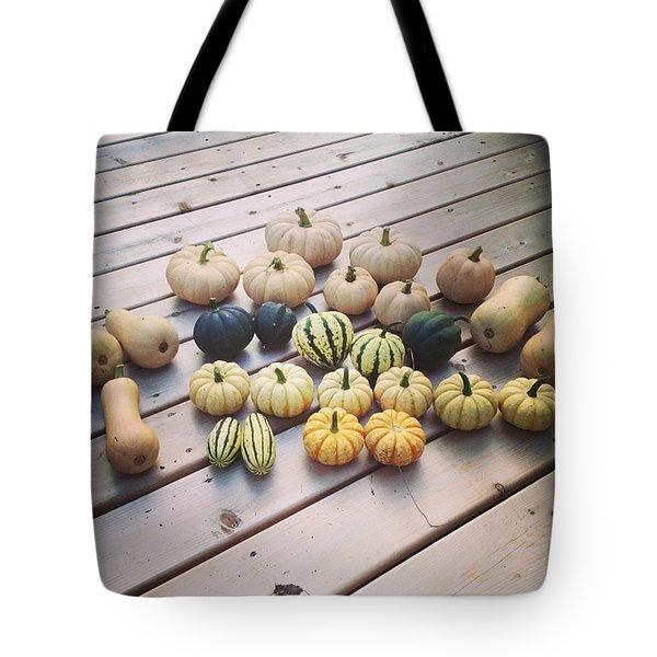 Squash Harvest Tote Bag
