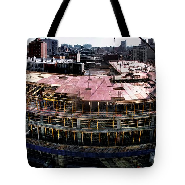 Tote Bag featuring the photograph 544 Union 1 by Steve Sahm