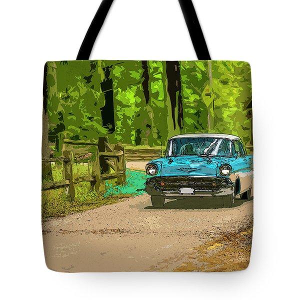 55 Chev Tote Bag