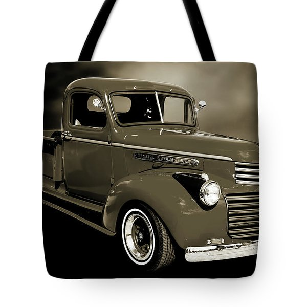 5514.04 1946 Gmc Pickup Truck Tote Bag by M K  Miller