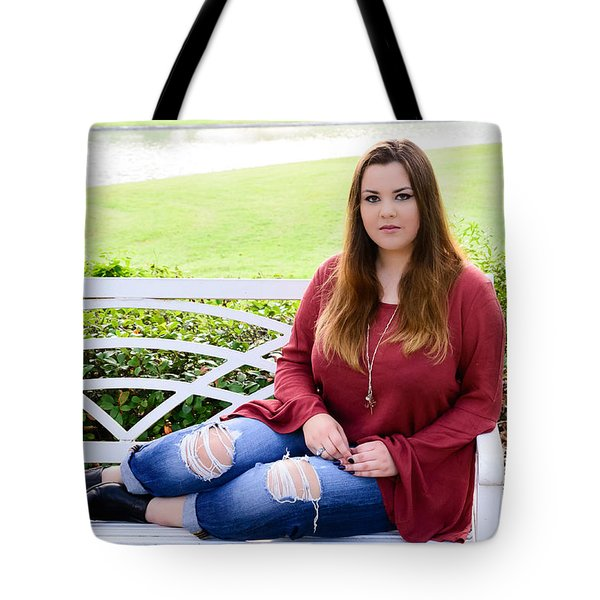 Tote Bag featuring the photograph 5559-2 by Teresa Blanton