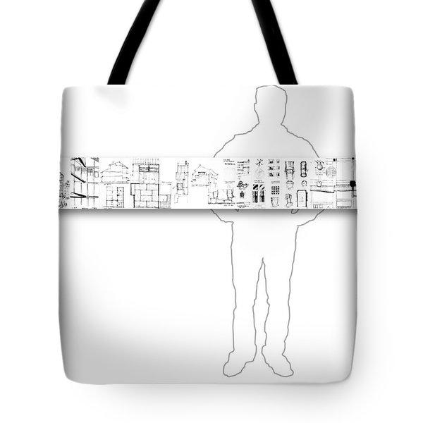 5.5.japan-2-horizontal-with-figure Tote Bag