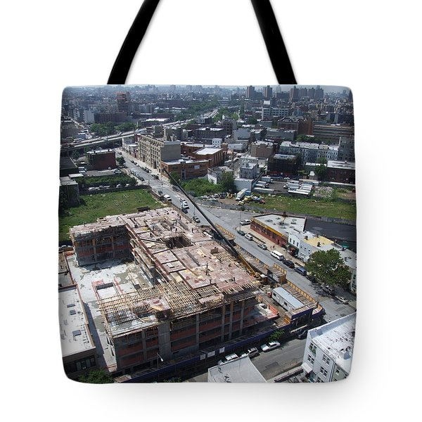 Tote Bag featuring the photograph 568 Union 2 by Steve Sahm