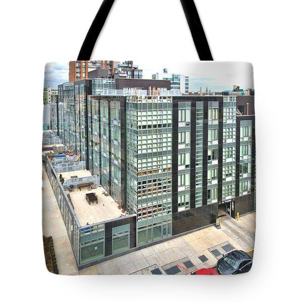 Tote Bag featuring the photograph 568 Union 4 by Steve Sahm