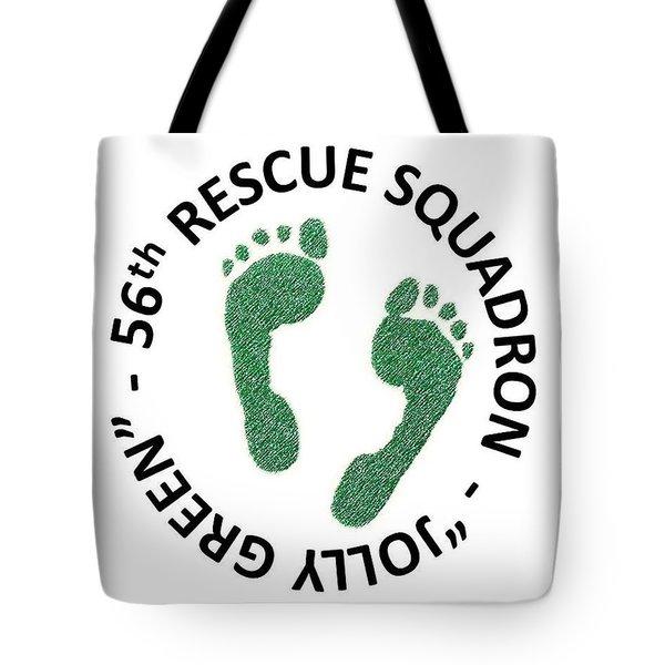 56th Rescue Squadron Tote Bag