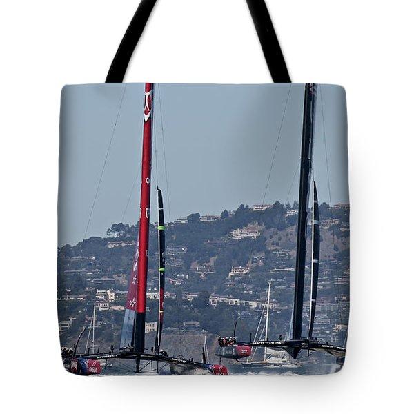 America's Cup 34 Tote Bag