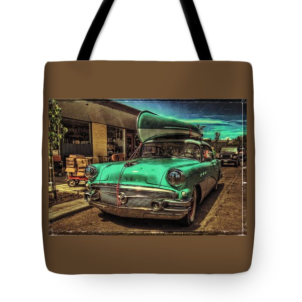 57 Buick - Just Coolin' It Tote Bag
